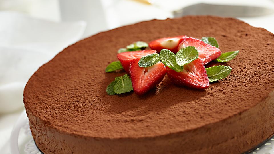 Przepis na wytrawne ciasto czekoladowe z koniakiem