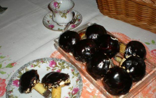 Przepis  słodkie grzybki przepis