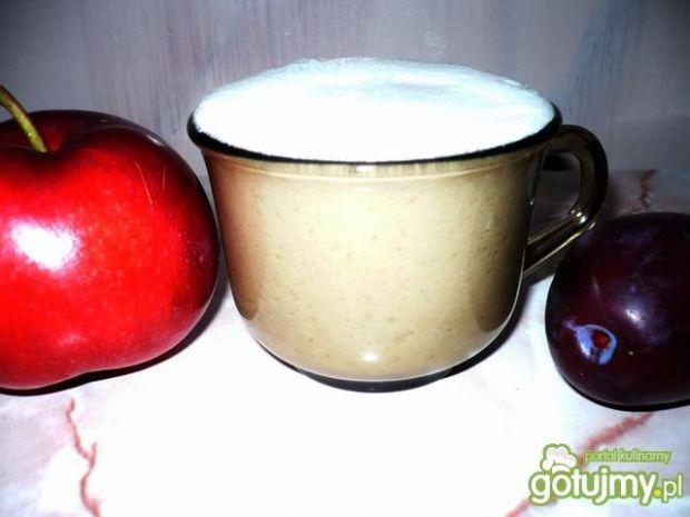 Przepis  koktajl jabłkowo-śliwkowy przepis
