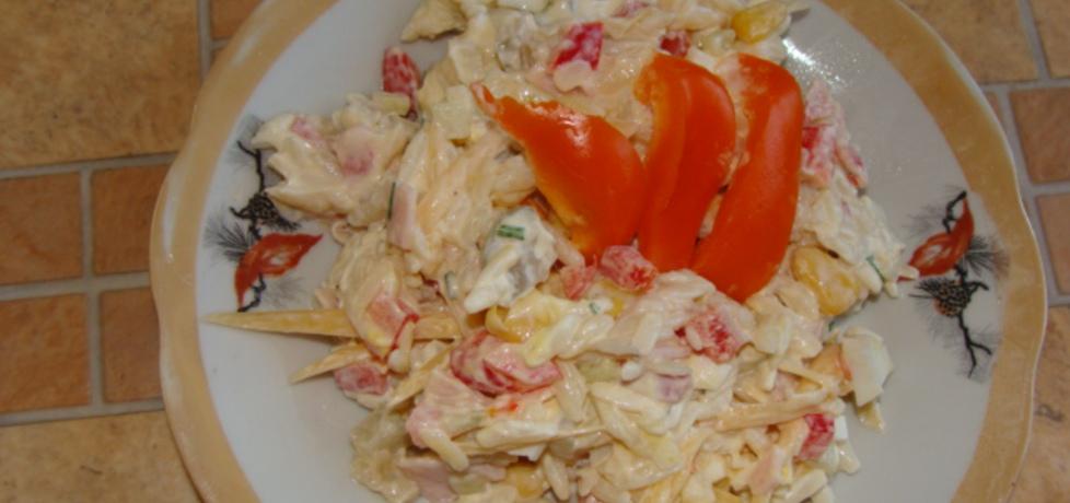 Sałatka z ryżem makaronowym (autor: agnieszka214 ...