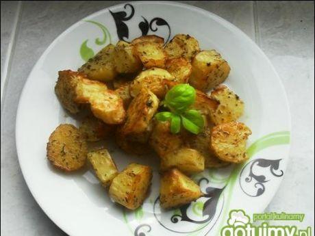 Przepis  ziemniaki zapiekane w ziołach przepis