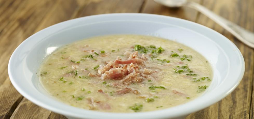 Zupa krem z ziemniaków ze szczypiorkiem