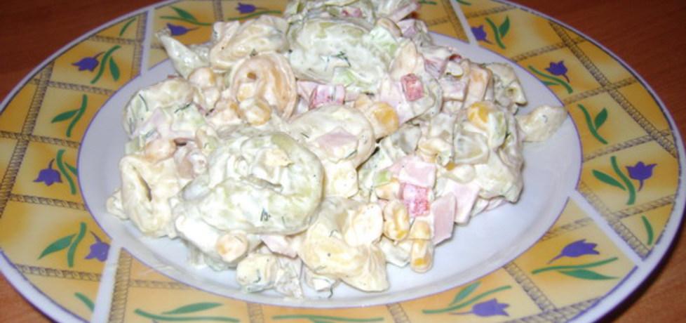 Tortellini w sałatce. (autor: izabelabella81)