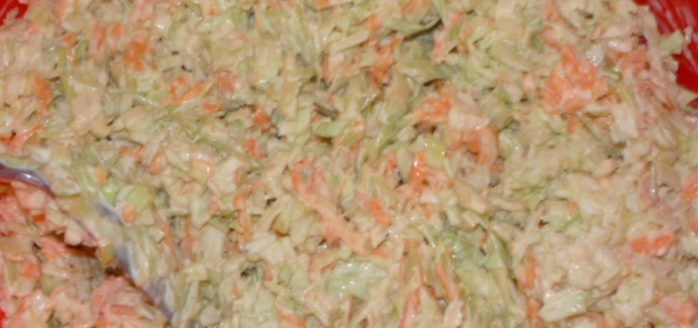 Sałatka z pekińskiej i marchewki (autor: owocowka ...