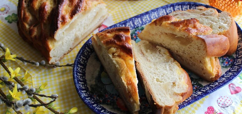 Wielkanocny wieniec z marcepanem (autor: anemon ...