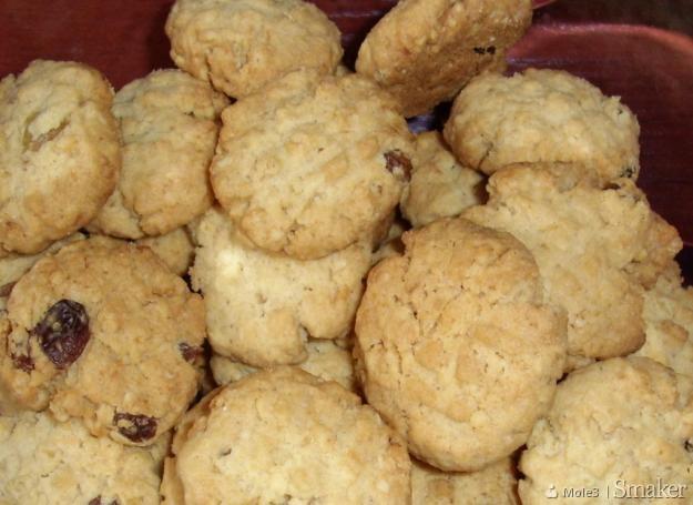 Kruche ciasteczka owsiane