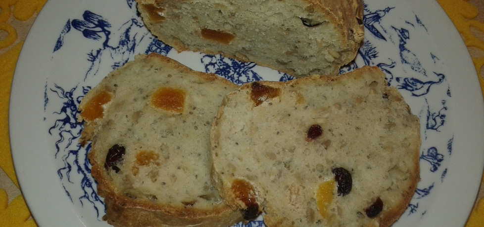Domowy chlebek owsiano
