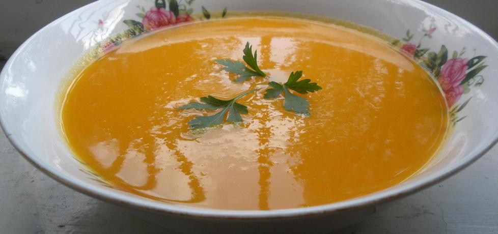 Zupa krem z marchewki pomarańczowo