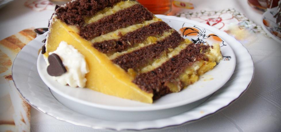Tort w pionowe paski (autor: tytka)