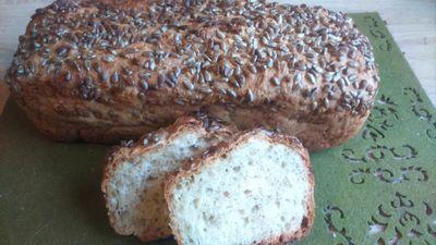 Szklankowy chlebek wiejski