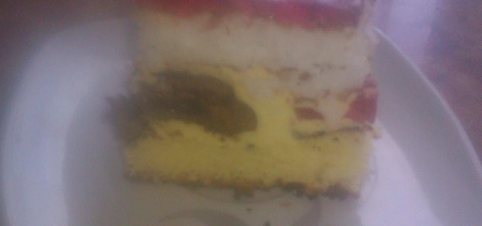 Kolorowe ciasto z pierniczkami (autor: ppaulina)