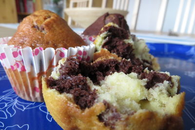 Muffinki czarno