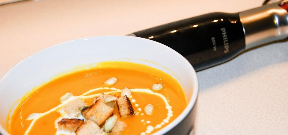 Zupa krem z dyni z imbirem (autor: kulinarna-ja)