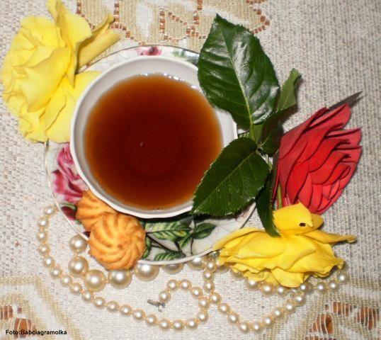 Przepis  herbata różana: przepis
