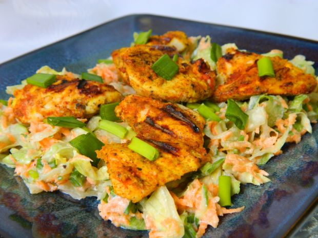 Przepis  kurczak curry z surówką przepis