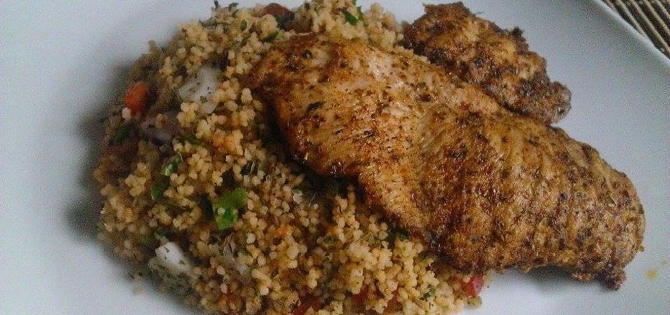 Grillowany kurczak na sałatce z kuskusu (autor: jedrzej