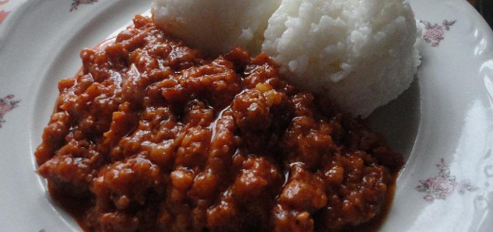Ryż z mięsem mielonym (autor: jodaj)