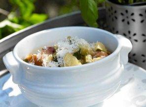 Włoski chłodnik warzywny  prosty przepis i składniki