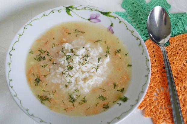 Przepis  zupa z selera naciowego z ryżem przepis