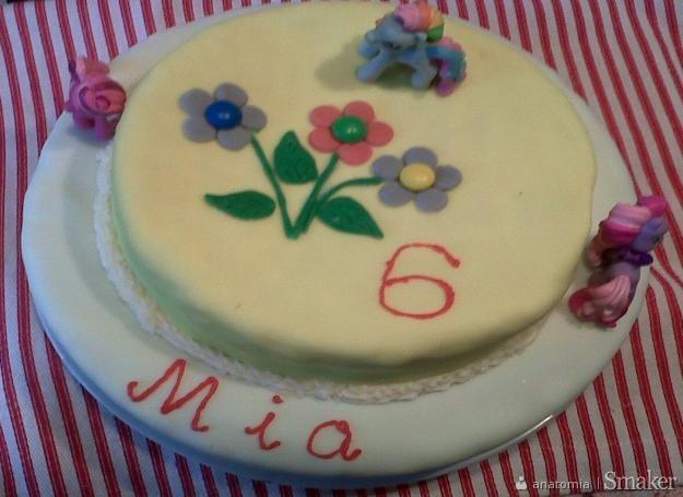 Tort urodzinowy dla dziewczynki