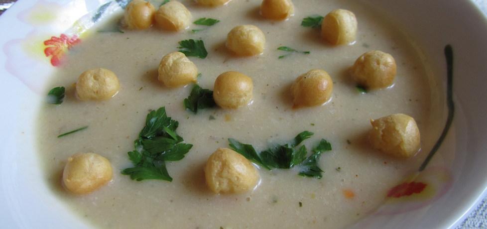 Zupa krem grochowa z groszkiem ptysiowym (autor: mar3sta ...