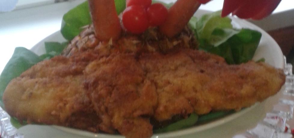 Smażony filet z dorsza. (autor: bozena