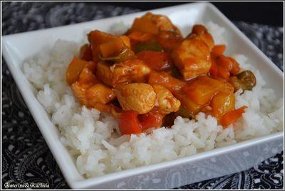 Soczysty kurczak w sosie słodko kwaśnym