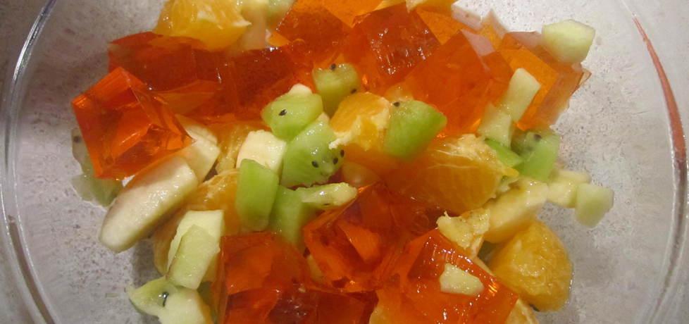 Sałatka owocowa z galaretką (autor: kate131)