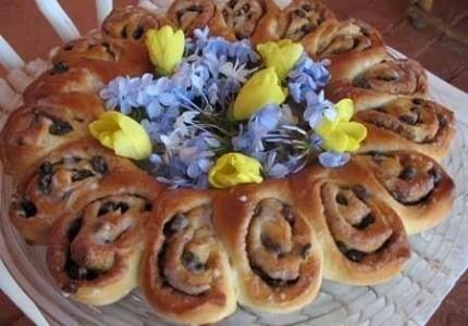 Wielkanocny wianuszek :)