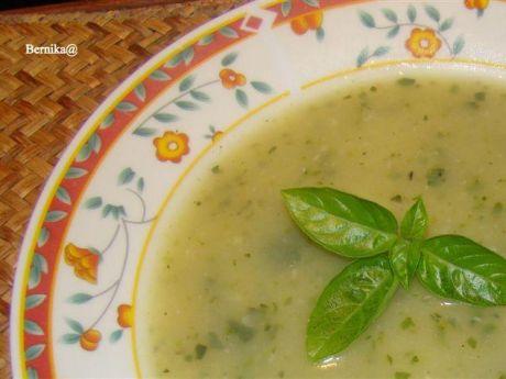 #zupa cukiniowo-czosnkowa