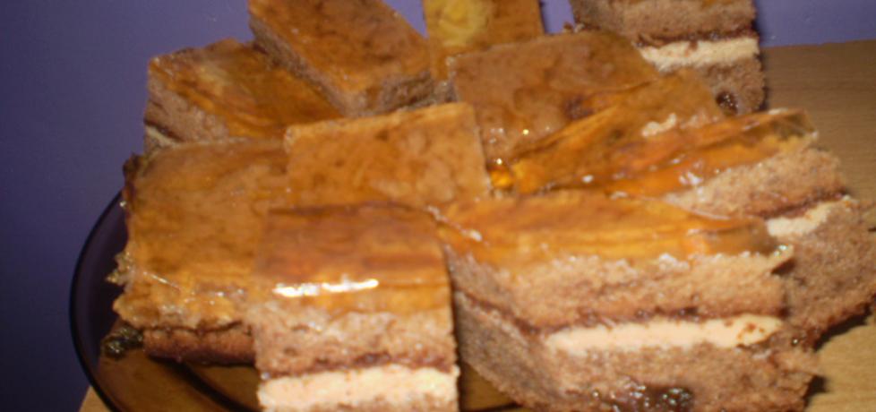 piernikowa słodycz z dżemem poziomkowym (autor: izabela29 ...