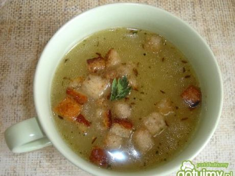 Zupa kminkowa  najlepszy przepis