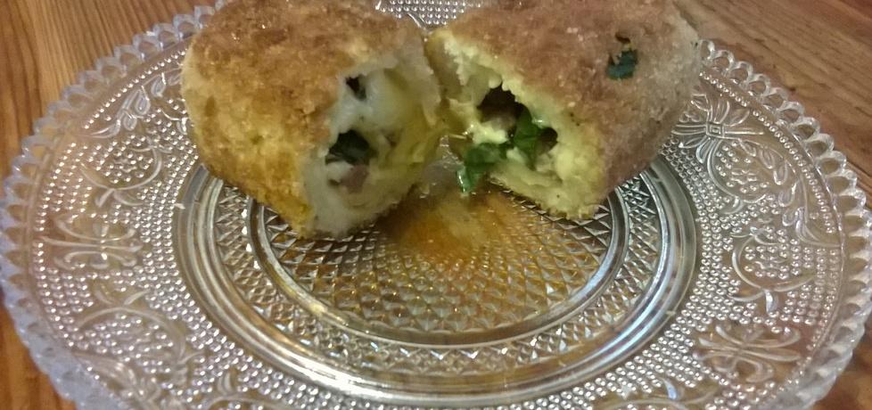 Krokieciki z chleba tostowego (autor: lis)