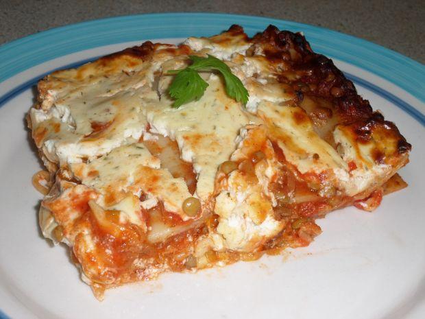 Przepis  lasagne z soczewicą przepis