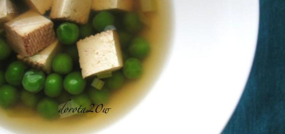 Chińska zupa z tofu (autor: dorota20w)