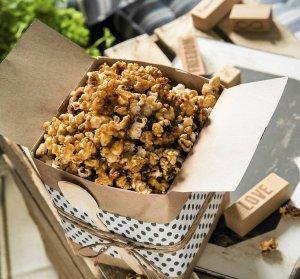 Karmelowy popcorn  prosty przepis i składniki