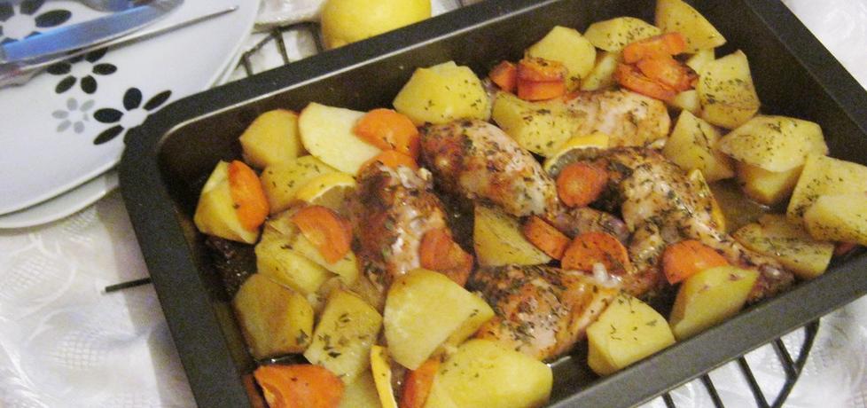 Udka pieczone z ziemniakami w cytrynie (autor ...