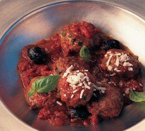 Włoskie klopsiki w sosie pomidorowym