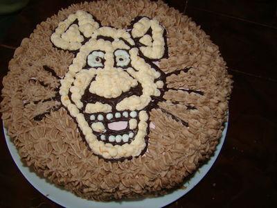 Tort lew alex ze śmietaną