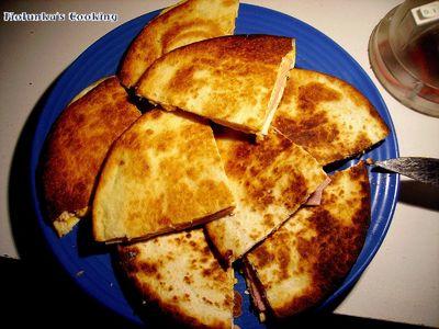 Tortilla sandwich.