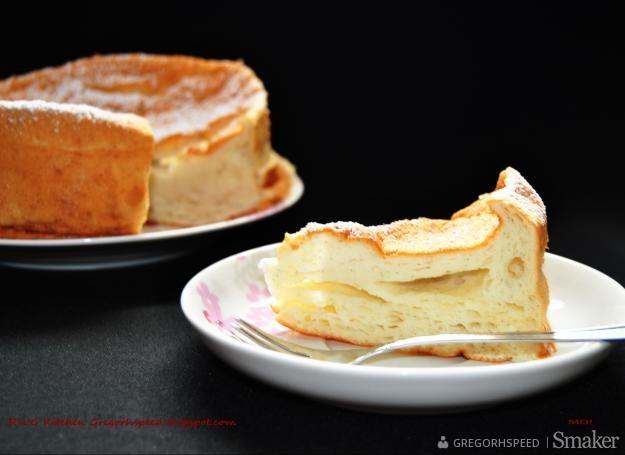 Anielskie ciasto szyfonowe