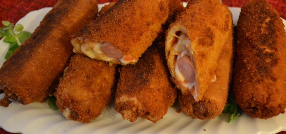 Parówkowe krokiety z chleba tostowego (autor: barbara13 ...