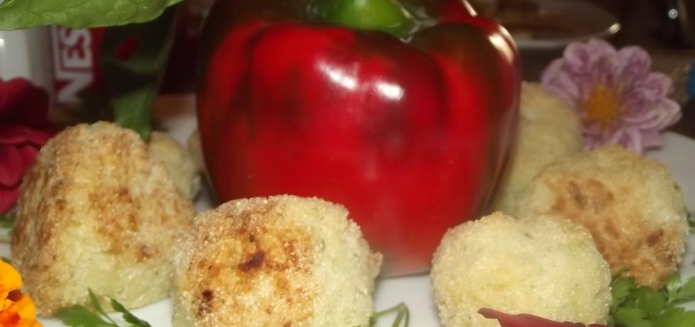 Kulki ryżowe z serkiem topionym (autor: izabela29)