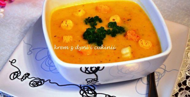 Przepis  zupa krem z dyni i cukinii przepis