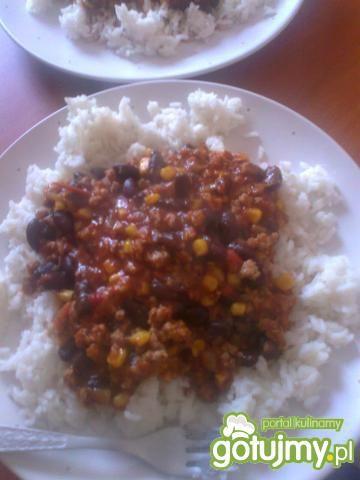 Przepis  moje chilli con carne przepis