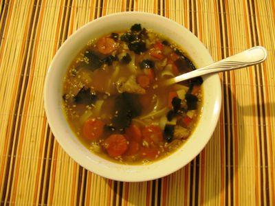 Zupa rybna na sposób wschodni