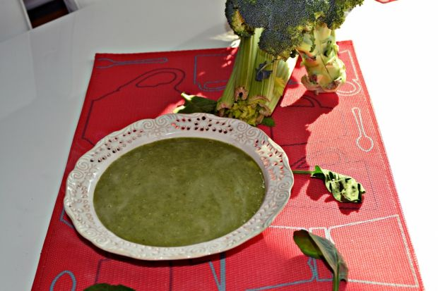 Przepis  zupa zielono mi przepis