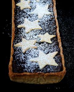 Tarta makowa z gwiazdkami