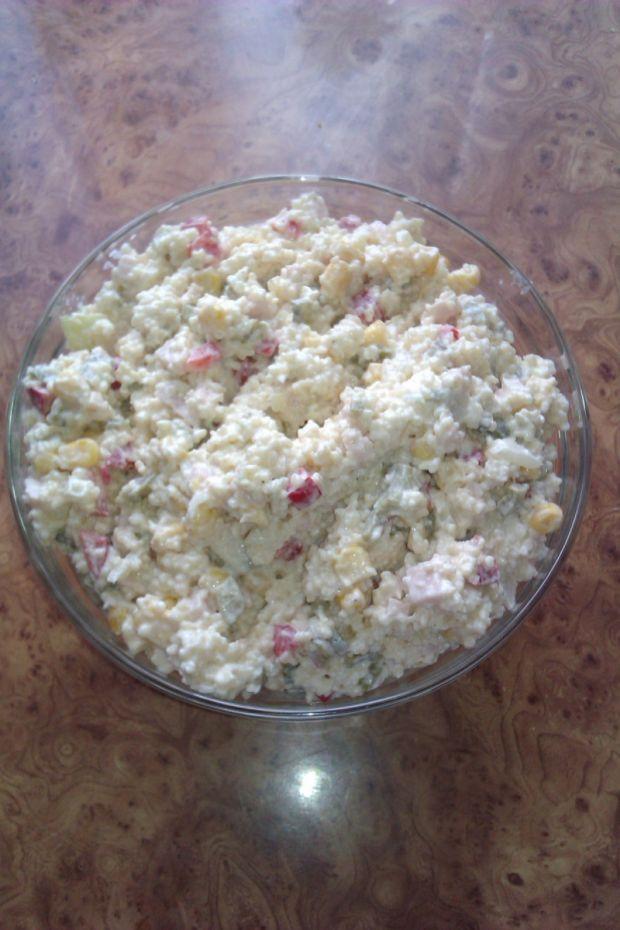 Sałatki: sałatka z kuskusem