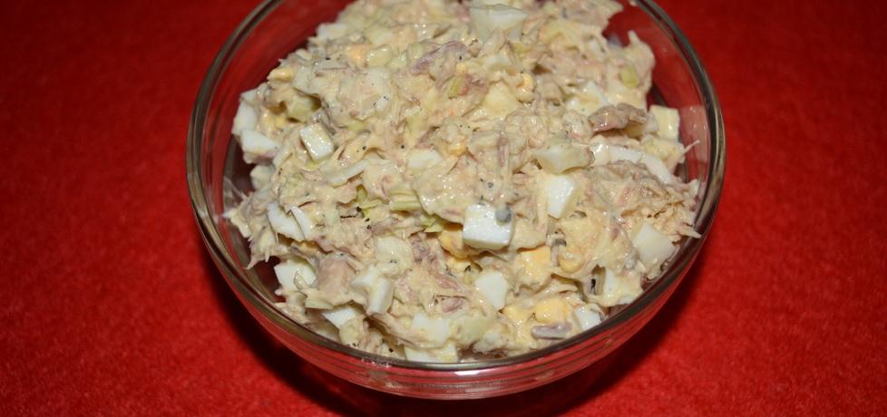 Sałatka z makreli w oleju z porem (autor: wafelek2601 ...